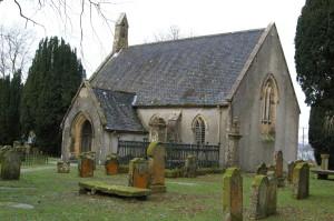 Inverchaolain Church, built 1812 on the site of its eighteenth-century predecessor.