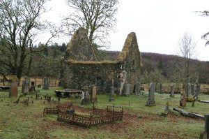 Kilmorie, the old church of Strathlachlan