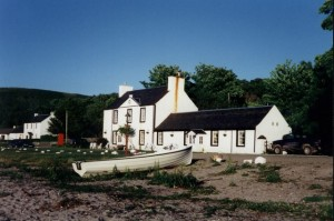 The Oystercatcher - a delightful pub and a welcome break on the road. Photo by Elliott Simpson (Geograph, licensed for re-use under Creative Commons license)