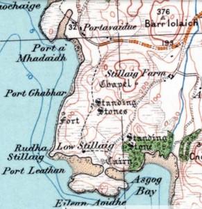 Stillaig Chapel and Portavadie