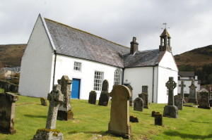 The parish kirk of Lochgoilhead, on the site of its medieval predecessor.