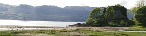 Old Castle Lachlan is an ancient symbol of power on the shore of Loch Fyne.