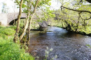 A bridge over the River Ruel at the bottom of Glendaruel.