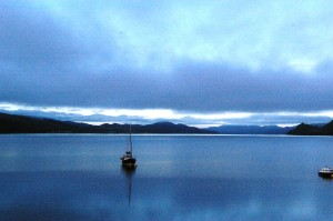 Enjoy strong coffee for breakfast at dawn, at Creggans Inn, on Loch Fyne