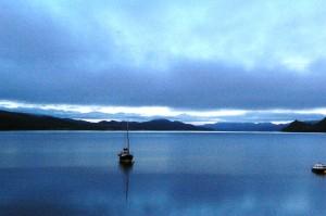 Enjoy strong coffee for breakfast at dawn, at Creggans Inn, on Loch Fyne