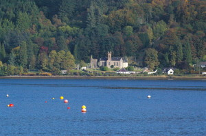 St Munn's Church, Kilmun (Cille Mhunnu), on the shore of the Holy Loch, is one of the oldest Christian sites in Argyll.
