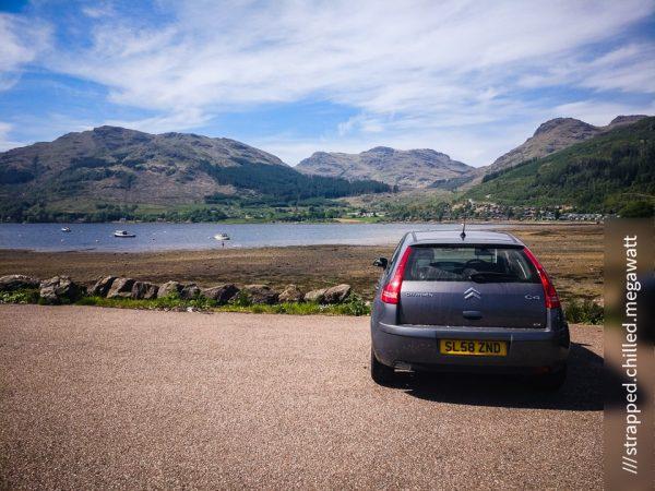 Parking at Lochgoilhead